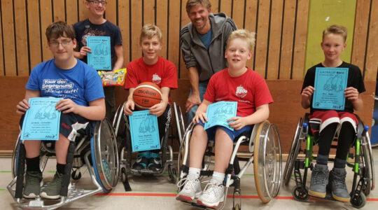 Rolli-Rookies gehen beim Juroba-Cup in Bonn an den Start