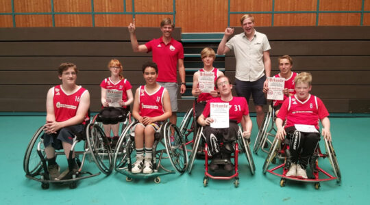Rolli-Rookies werden vierter bei Hitzeschlacht in Trier