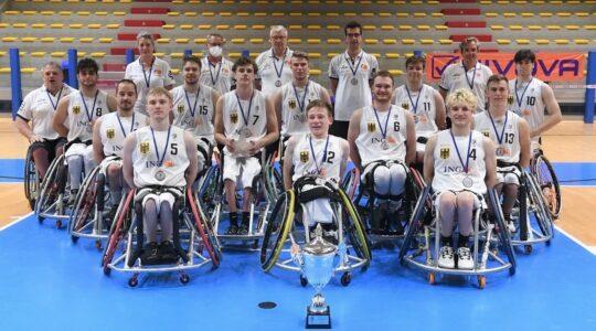 Silbermedaille für unsere Youngsters bei der U22-Europameisterschaft